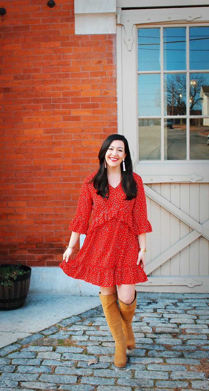 The Perfect Little Red Dress for Valentine's Day