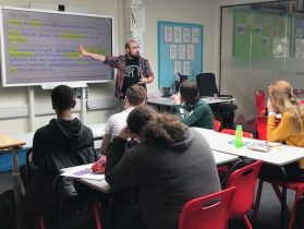 Photo-4.-Mr.-Lester-taking-students-through-An-Inspector-Calls-revision-tips
