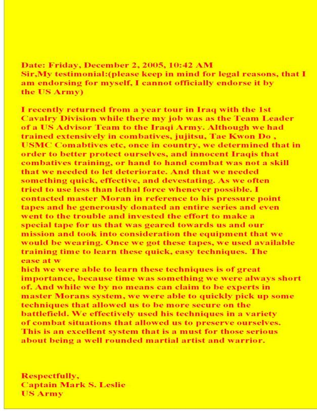 Maj. L. letter