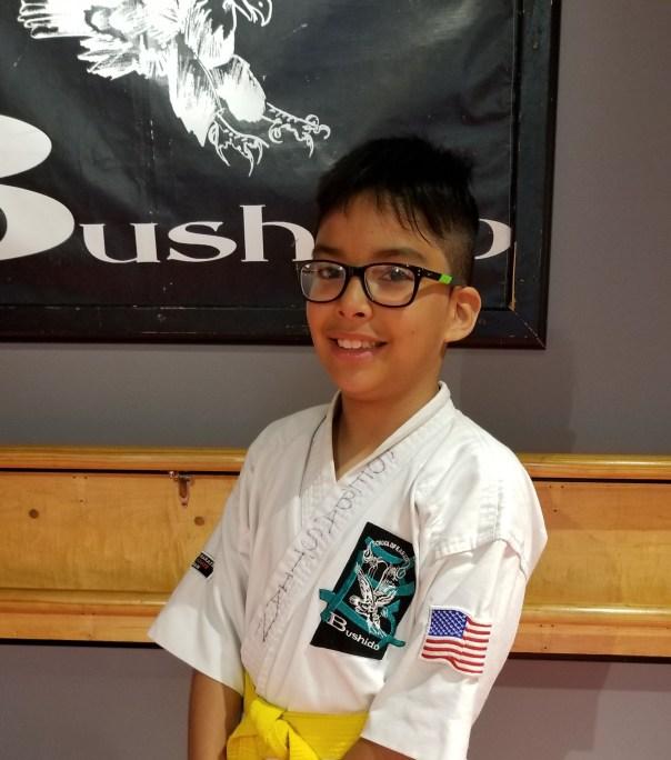 karate boy image
