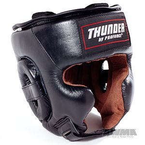Leather Boxing Headgear