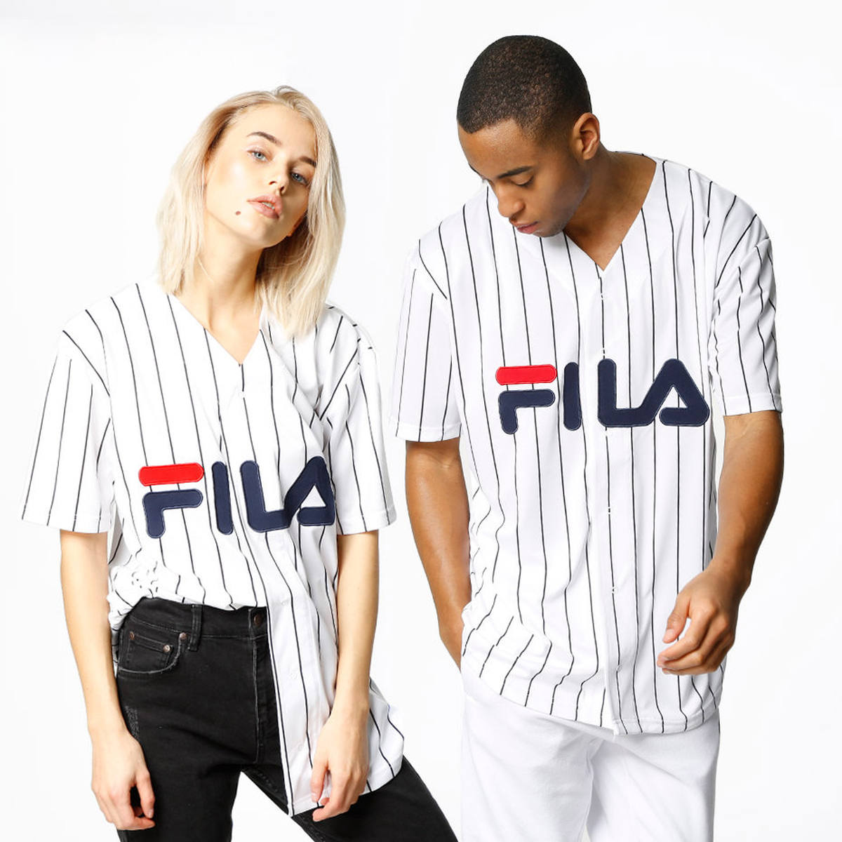Fila|Dawn Baseball striped shirt