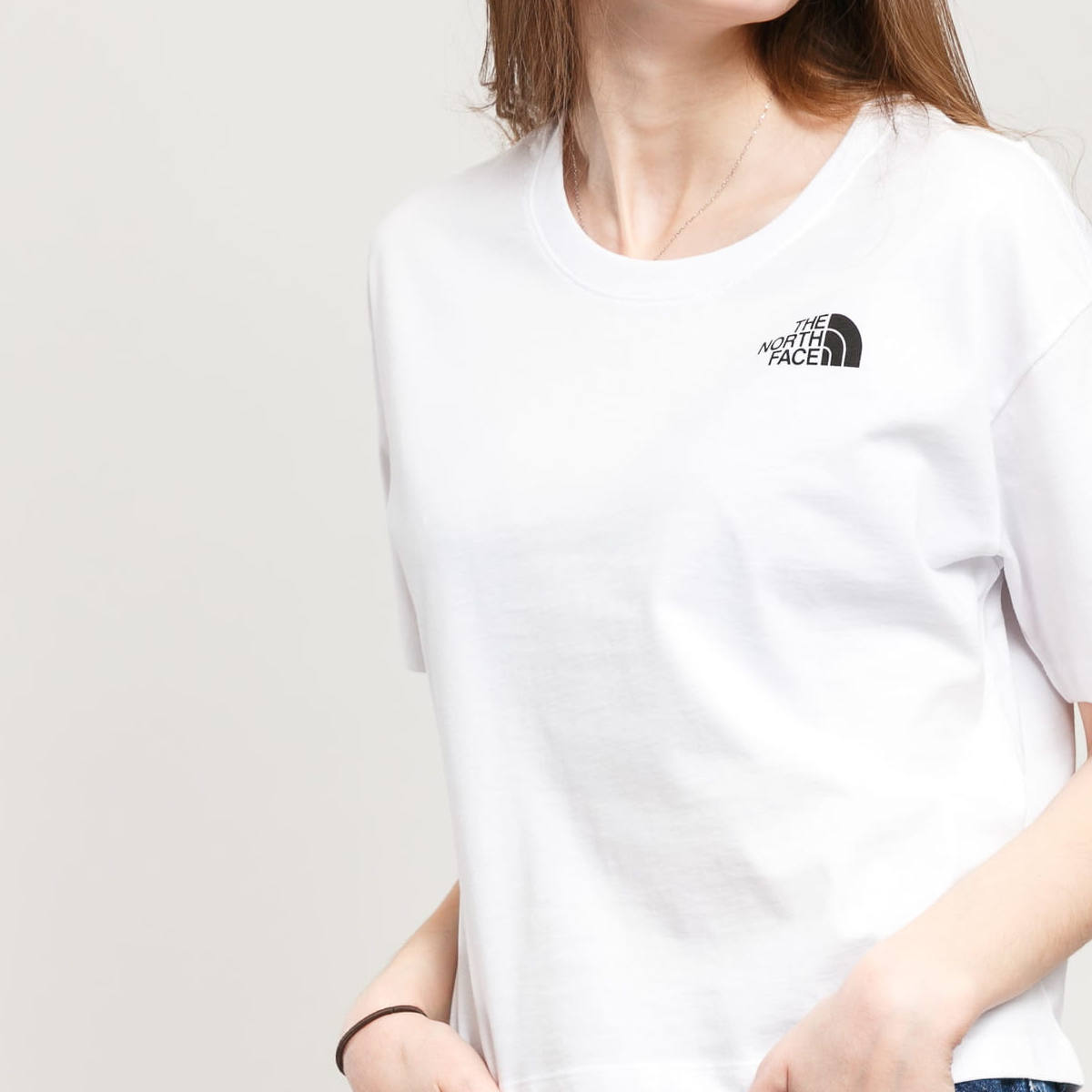 The North Face Cropped Simple Dome Tee