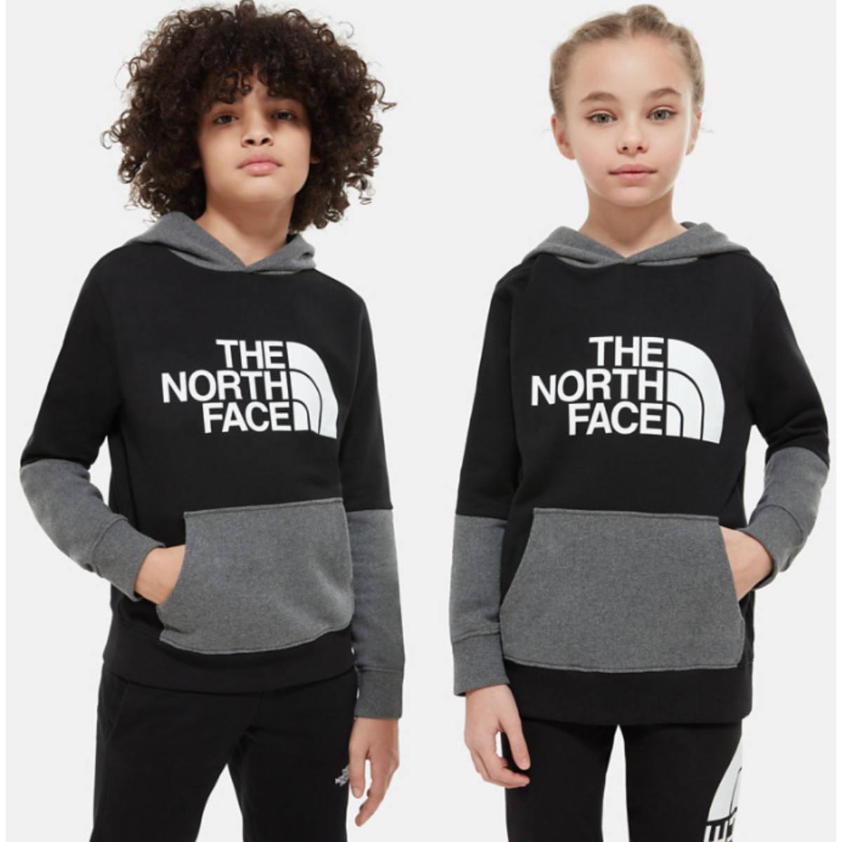 The North Face Felpa Leggera Bambini Drew Peak Con Cappuccio E Design A Blocchi Di Colore