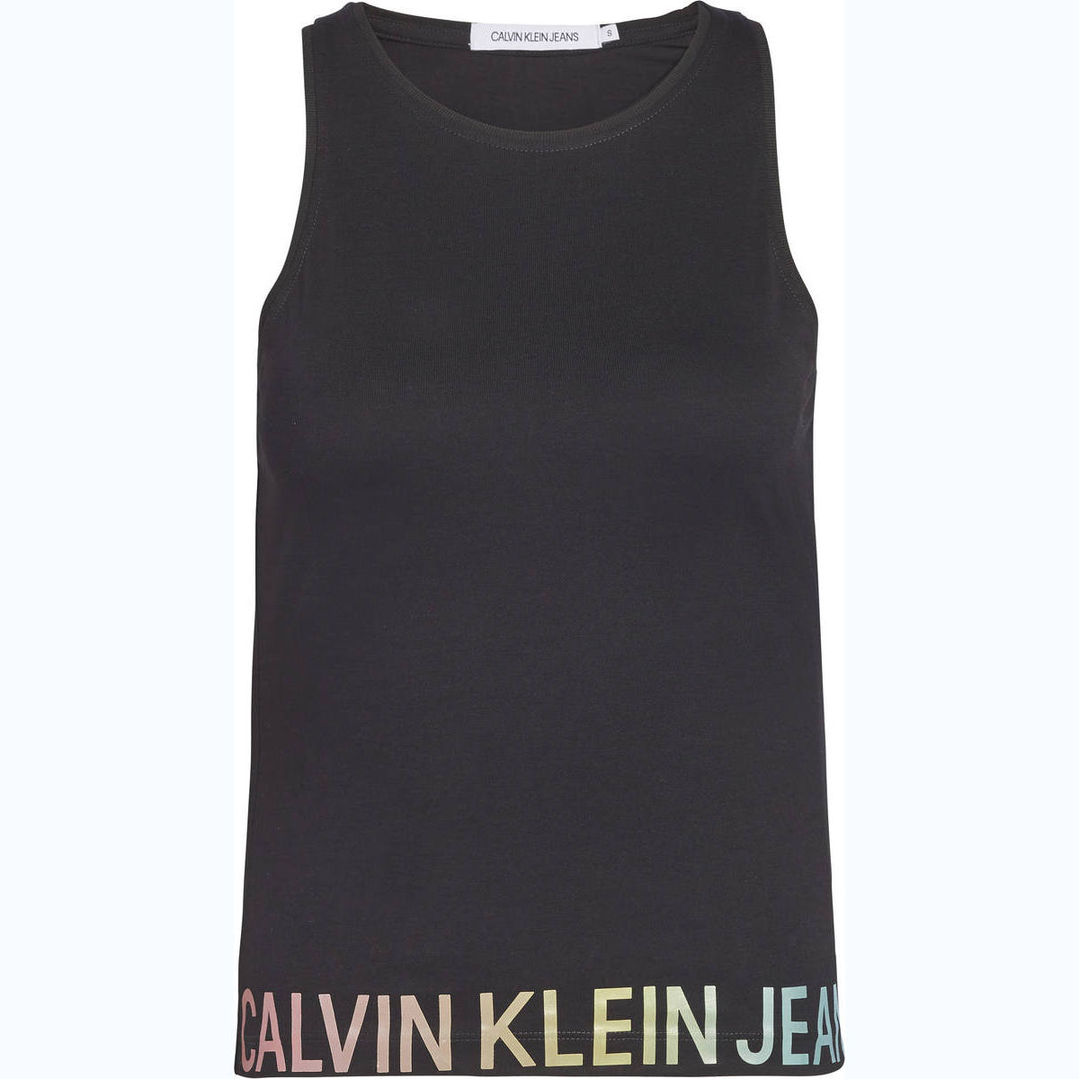 DEGRADE LOGO HEM SPORTY TANK