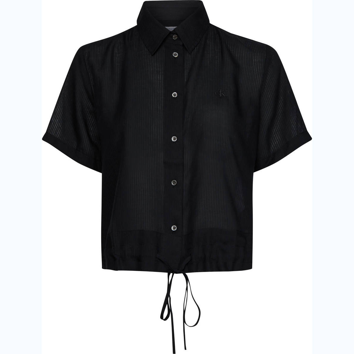WAISTED LACING SS SHIRT