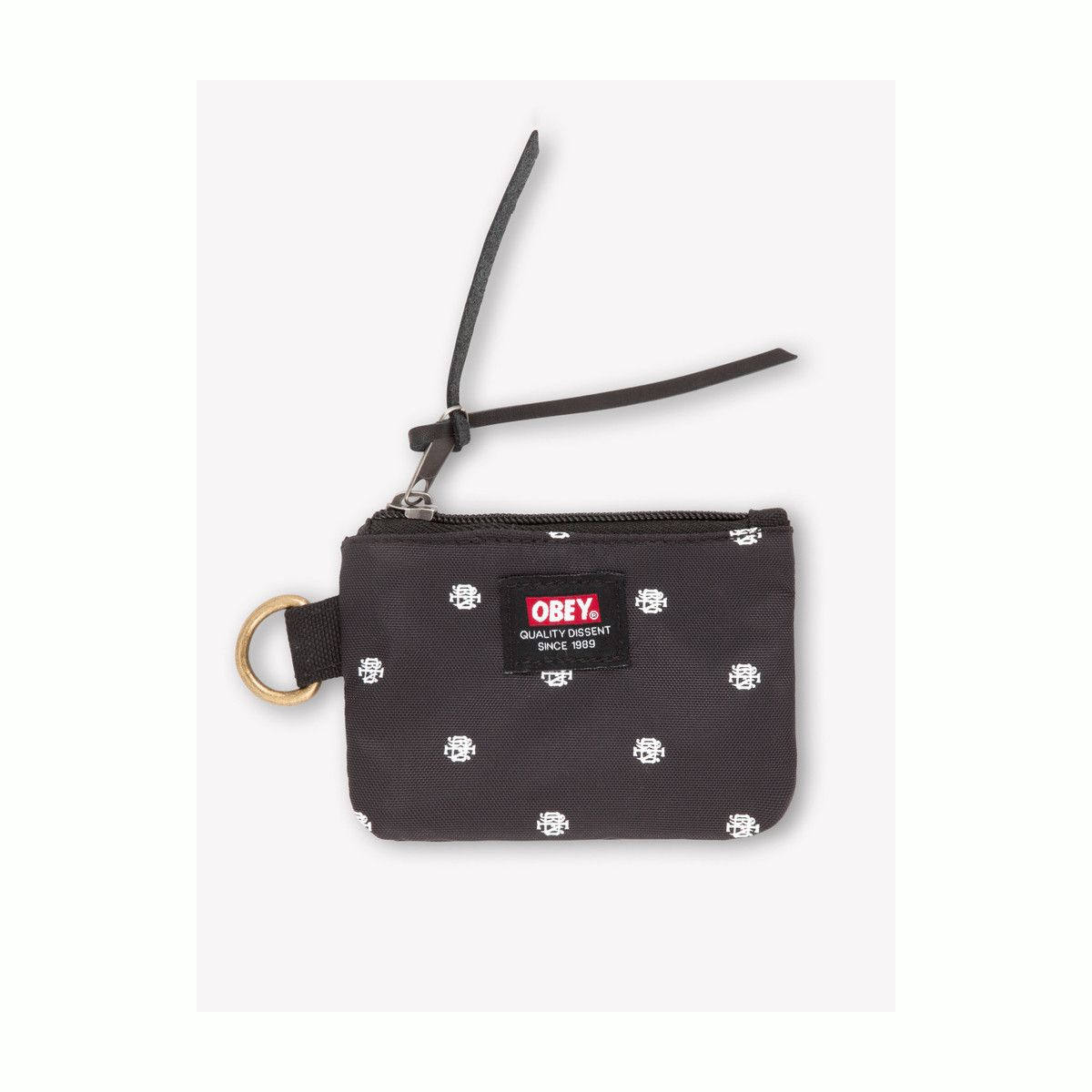 Obey|Monogram Dissent Coin pouch