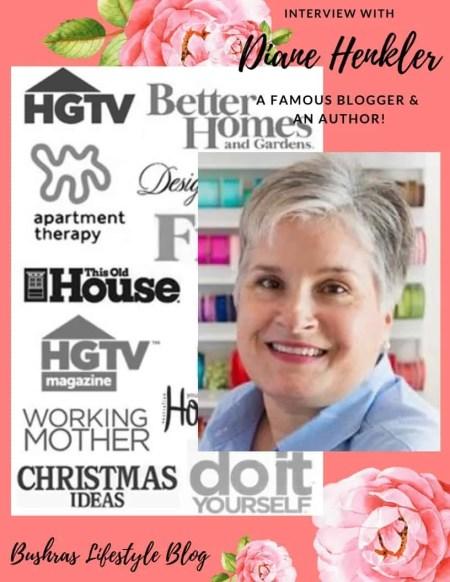 Meet Diane Henkler, A Blogger's Celebrity!