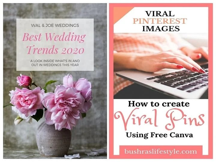 How to create Pinterest Images Using Canva