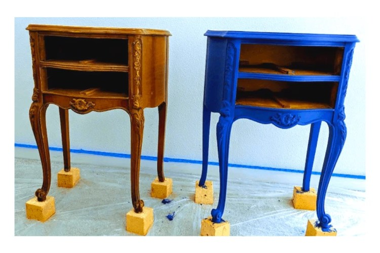 How To Chalk Paint Furniture Plus Chalk Paint Recipe Bushra S