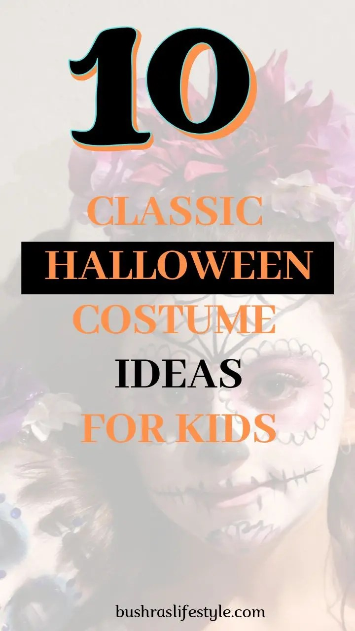 Classic Halloween costumes for kids
