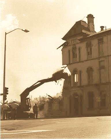 demolition of the bellvue