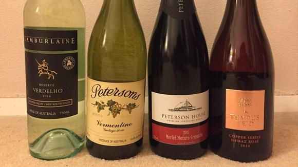 シラーズ・ロゼのスパークリングワイン