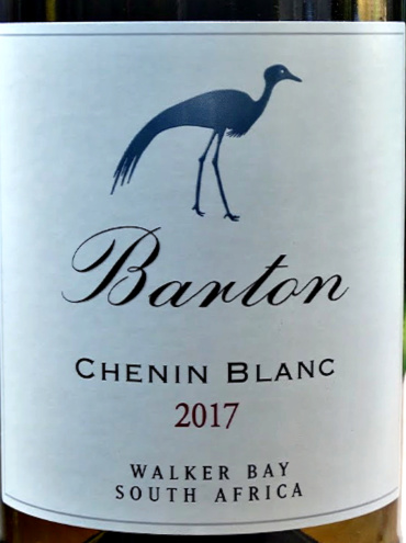 Barton Estate Chenin Blanc 2017 in the words of Platters Guide is juicy and impeccably balanced with some real substance to it. Fresh, pears and tropical fruit palate, this quaffable Chenin Blanc is hard not to drink! Brilliant value from Bush Vines. Great wine from Walker Bay, South Africa.