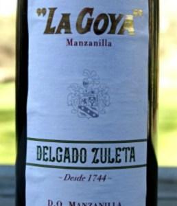 La Goya Manzanilla Silver Medal Winner Fantastic dry sherry from Spain