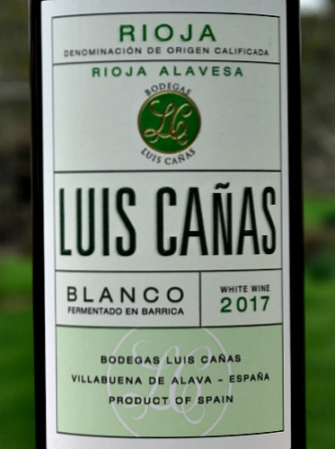 Luis Canas Barrel Fermented Blanco 2017; superbly balanced lightly oaked white from one of a top producer in Rioja. Consistently excellent white Rioja; smooth and packed with flavours.