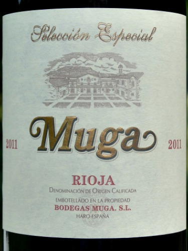 Muga Seleccion Especial Reserva 2011; consistently brilliant full-bodies Reserva, complex, a real treat, 93 points from Penin Guide & Wine Spectator; great value from Bush Vines at £23