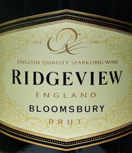 Ridgeview Bloomsbury 2014; West Sussex wine beats champagne in blind tasting. One of their finest vintages yet says Matthew Jukes in the Daily Mail. If you like Champagne this is simply wonderful, elegant English Fizz