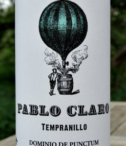 Pablo Claro Tempranillo 2017; organic juicy red wine from Dominio de Punctum family run Estate Spain; fantastic value, terrific quality.