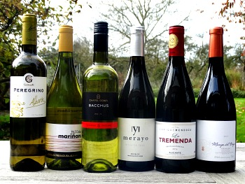 Monty Python Case Offer, and now for something completely different. discover six amazing wines from lesser known regions. Wines from Galicia, England and three amazing reds from Spain. Terrific value. Would make a great present.