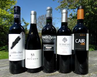 Spring Tasting Top Selling Reds: Pablo Claro, Merayo, Ramon Bilbao, Medievo, Cuvee Cair
