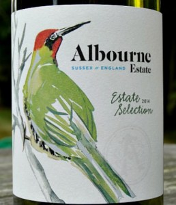Albourne Estate Selection 2015; elegant, award-winning English dry white wine from West Sussex. Complex aromas and flavours of apples and white peaches with citrus hints. Lovely textured palate with great length.