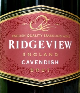 Ridgeview Cavendish Brut 2013; award-winning classic English Sparkling Wine from West Sussex; great price £23.25