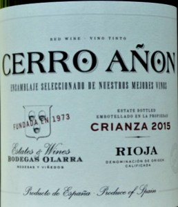 Cerro Añon Crianza 2015 has a new look label but the wine is the same excellent standard. It is consistently great value, stylish Crianza. Full of Blackberry fruit and laced with vanilla overtones, this is a classic Rioja at a great price to be enjoyed.