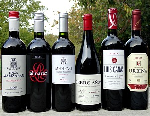 Rioja Case Offer; brilliant way of discovering six different Riojas including 3 amazing Crianzas. great value