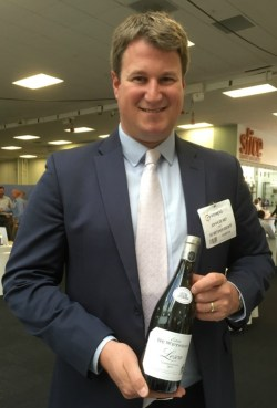 Johann de Wet, CEO of De Wetshof Estate