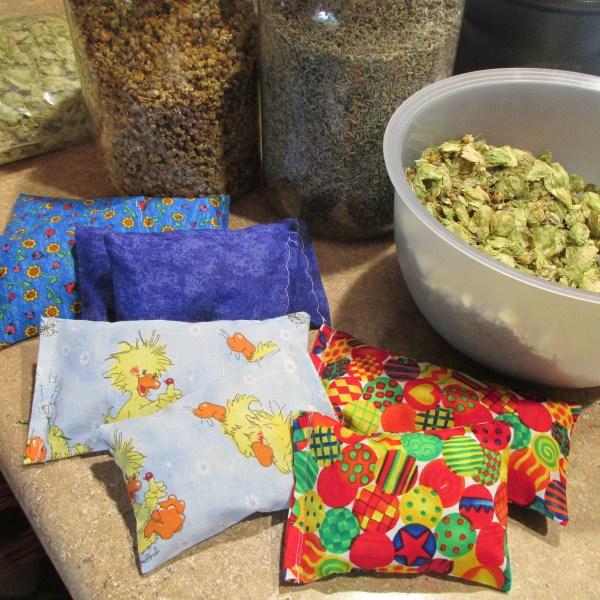 herbal sleep pillow