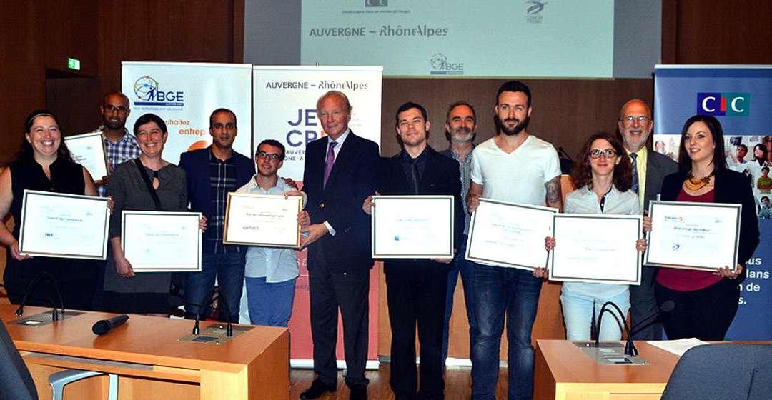 Busicorp lauréat  du concours Talents de la création d'entreprises