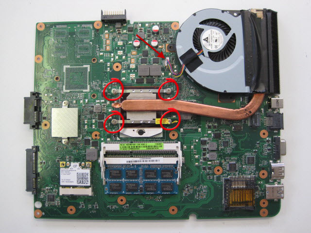 asus rv701 laptop how to clean dust out