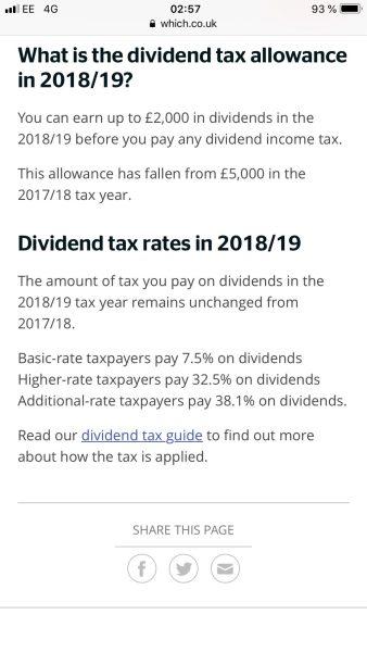 Société LTD à Londres : Fiscalité