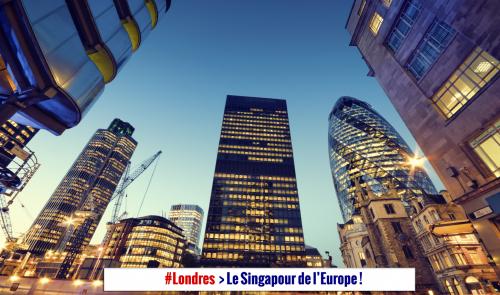 L'Angleterre offre une fiscalité basse. Un Impôt Société anglais à 17% attirera les entreprises à Londres