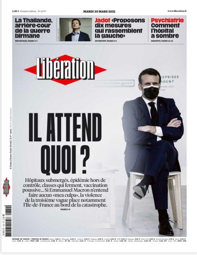 Il attend quoi Macron ?