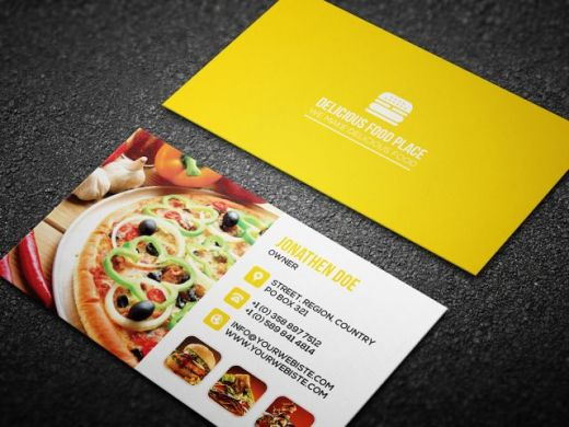 Delicious-food-business-card-template-yerrow-580x435