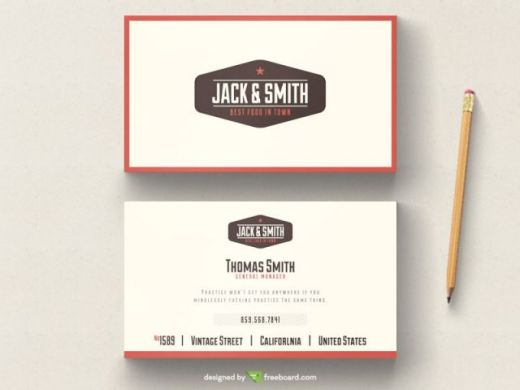 Vintage-typography-business-card-tempalte-580x435