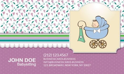 babysitting-business-card-front-580x348