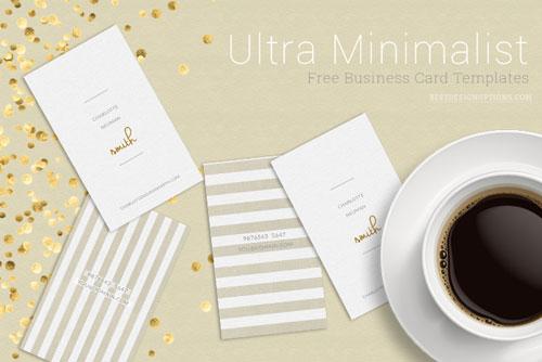 minimalist-business-card