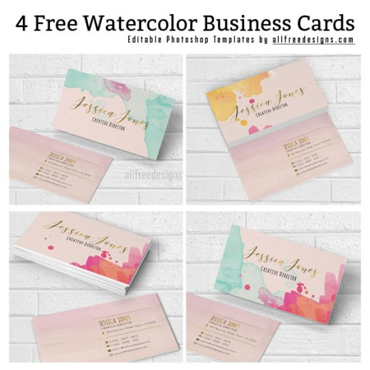 watercolor-business-cards-580x580