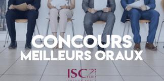 Concours Meilleurs Oraux Postbac 2019 ISC Paris
