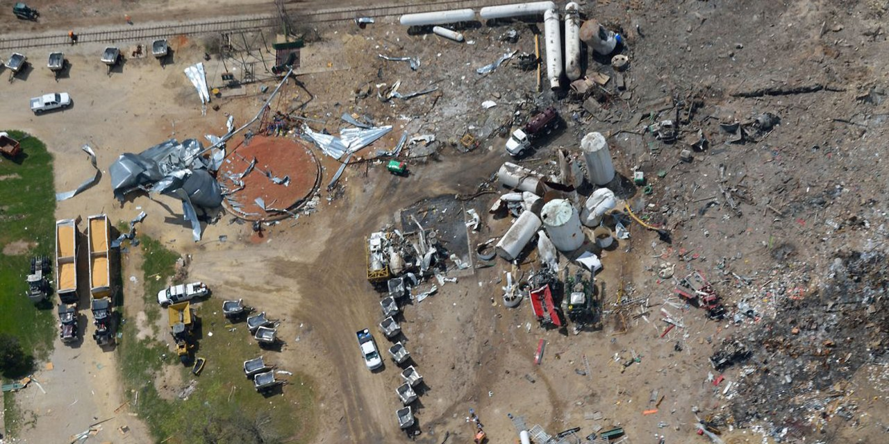 West, Texas, Disaster Could Happen Anywhere