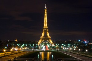 The Eiffel Tower at Trocadéro in Paris, France. Credit: Sathish J, FlickrCC