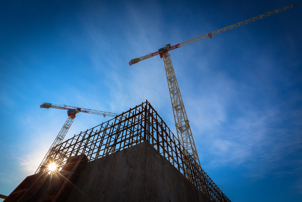 Construction output up 40% in April
