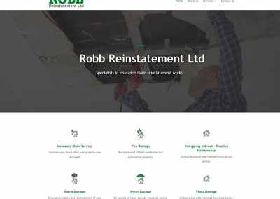 Robb Reinstatement Edinburgh