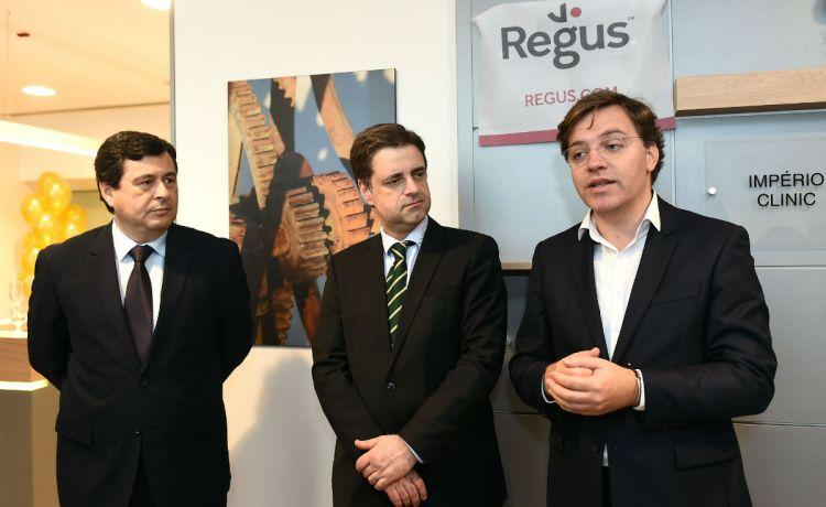 Inaguração Centro de Negócios Regus Braga