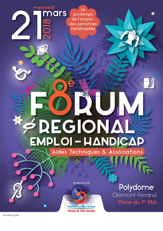 forum régional emploi-handicap