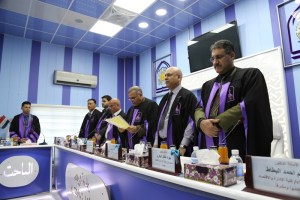 Read more about the article مناقشة الطالب ايهاب علي