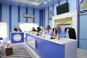 Read more about the article جانب من مناقشة الطالبة مروة حيدر غازي